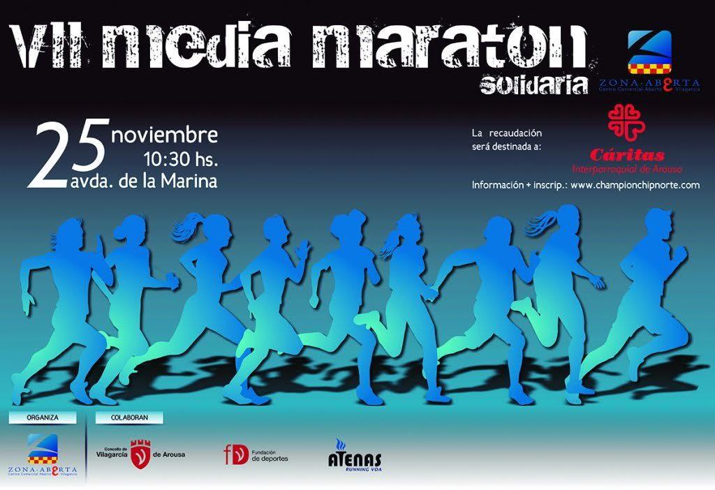 cartaz da VII MM Vilagarcia